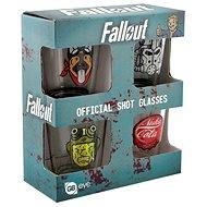 Fallout - štamprle (4x) - Sklenička