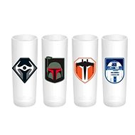 Star Wars - Glasses (4x) - Glass for Cold Drinks