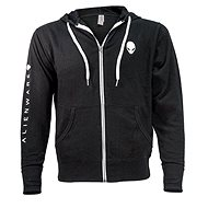 Dell Alienware Terry Zip Hoodie - XL - Mikina