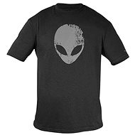 Dell Alienware Distressed Head Gaming Gear T-Shirt Grey - Tričko