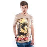 STAR WARS Scarif - písečné tričko M - Tričko