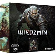 Zaklínač - Geralt - oficiální puzzle - Puzzle