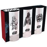 Star Wars - 3x sklenice - Sklenice na studené nápoje