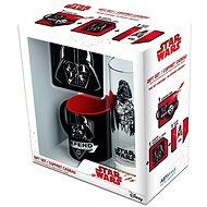Star Wars Vader set - hrnek, podtácek, sklenice - Dárková sada