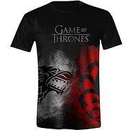 Game of Thrones Sigil Face - tričko - XL - Tričko