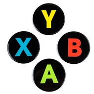 Xbox Buttons - Coaster - Pad