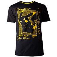 Tričko Pokémon Pikachu Profile - tričko M