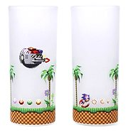 Sonic & Eggman - 2x sklenice - Sklenice na studené nápoje