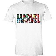 Marvel Characters Logo - tričko - Tričko