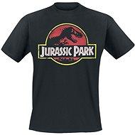 Jurassic Park Logo - tričko - Tričko