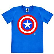 Captain America Logo - T-Shirt S - T-Shirt