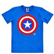 Captain America Logo - T-shirt Size XL