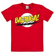 Tričko Bazinga Logo - tričko M
