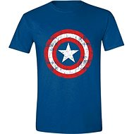 Captain America Cracked Shield L - T-Shirt