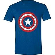 Captain America Cracked Shield - tričko S - Tričko