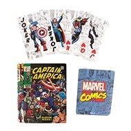 Marvel Comic Book - hrací karty - Karty