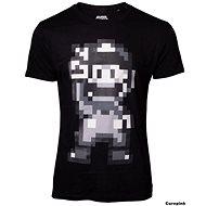 16-bit Mario Peace - tričko XXL - Tričko