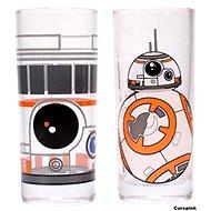 Star Wars BB-8 - 2x sklenice