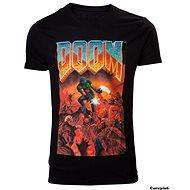 DOOM Classic Box Art - tričko - Tričko