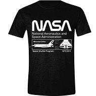 NASA Space Shuttle Program - tričko M - Tričko