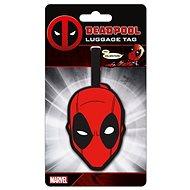 Deadpool Head - jmenovka na zavazadlo