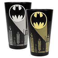 DC Comics Bat Signal - proměňovací sklednice - Sklenice na studené nápoje