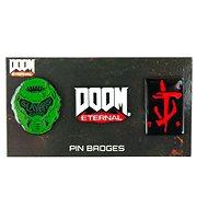 Doom 3 Pin Badge Set - odznak - Přívěsek