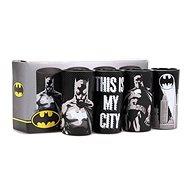 Batman Poses - 4x sklenice - Sklenice na studené nápoje