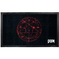 DOOM Pentagram - rohožka - Rohožka