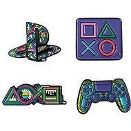 PlayStation Pin Badge Set - odznaky - Přívěsek