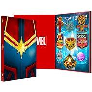 Captain Marvel - Collectors Pin Badge Set - odznaky - Dárková sada