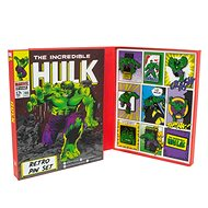 Marvel Hulk - Retro Pin Badge Set - odznaky - Dárková sada