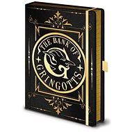 Zápisník Harry Potter - The Bank of Gringotts - zápisník