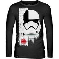 Star Wars: Trooper Mask - tričko s dlouhým rukávem M - Tričko