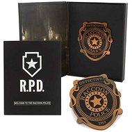 Resident Evil R.P.D. Pin Badge - odznak - Dárková sada