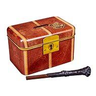 Harry Potter Hogwarts - pokladnička s kouzelnou hůlkou