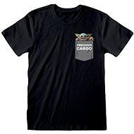 Tričko Star Wars Mandalorian - Precious Cargo Pocket - tričko L
