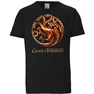 Tričko Game of Thrones - Targaryen Dragons - tričko XXL