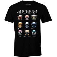 Star Wars Mandalorian - Bounty Hunters - tričko - Tričko