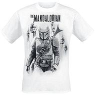 Star Wars - Mandalorian VS Stormtroopers - tričko - Tričko