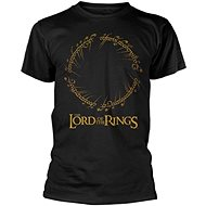 Lord of the Rings - Ring Inscription - T-Shirt - T-Shirt