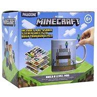 Hrnek Minecraft - Build a Level - hrnek s nálepkami