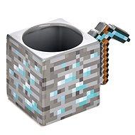 Hrnek Minecraft - Pickaxe - keramický 3D hrnek