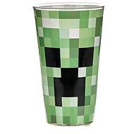 Sklenice na studené nápoje Minecraft - Creeper - sklenice