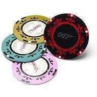 James Bond - Casino Royale Poker Chip Coasters - podtácky - Podložka