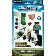 Minecraft - samolepky na zeď 19ks