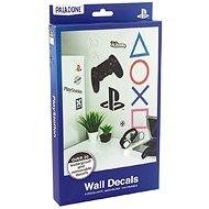 PlayStation - samolepky na zeď 22ks - Samolepka