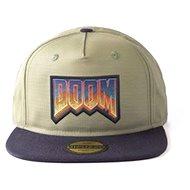 DOOM - Retro Logo - kšiltovka - Kšiltovka