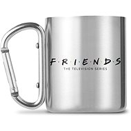 Friends - Logo - Metal Mug with Carabiner - Mug