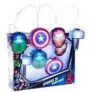 Marvel Avengers - Icons - světýlka k zavěšení